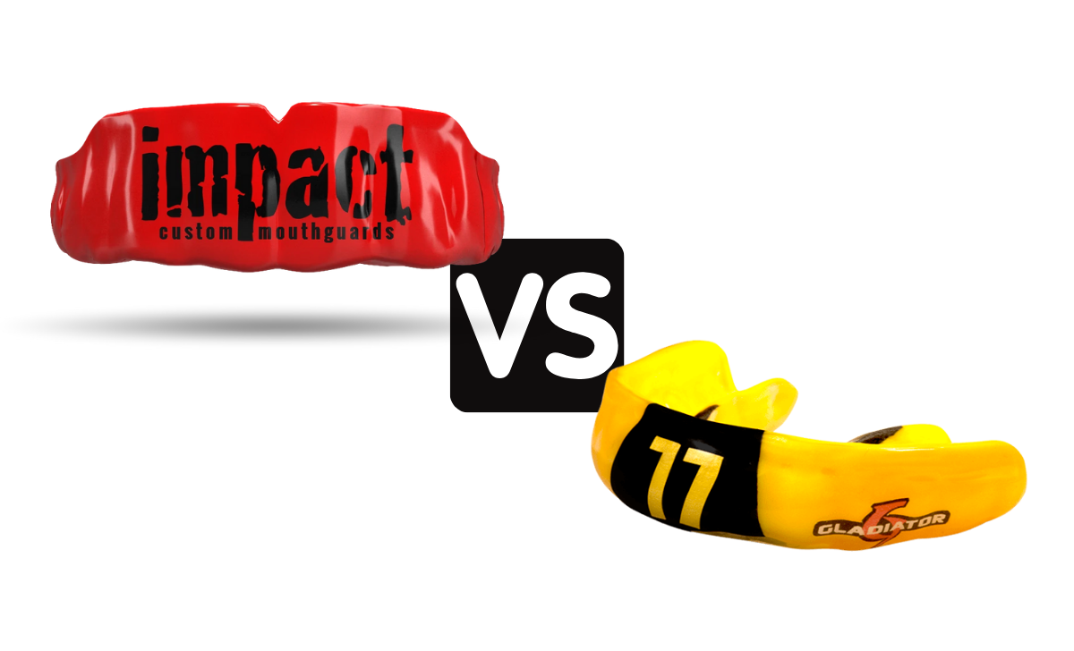 Impact Mouth Guard vs Gladiator Guards