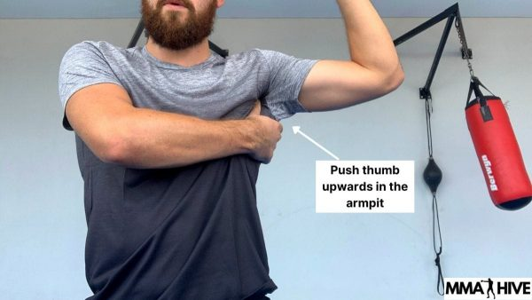 How to find the Serratus Anterior muscle with your thumb