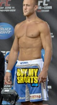Dave Herman at a UFC weigh-in
