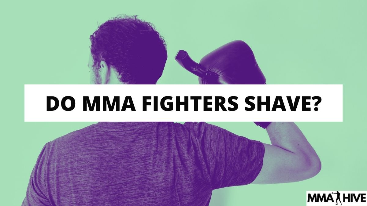 Do MMA Fighters Shave Their Bodies?