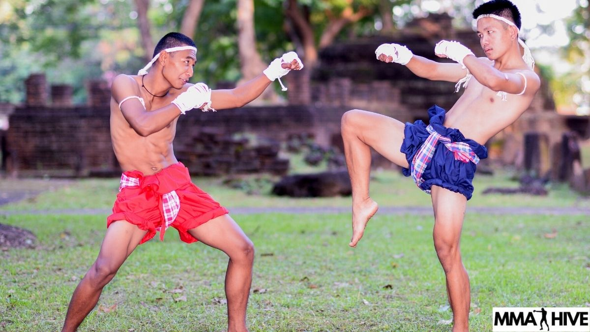 Endomorph fighters with long limbs for Muay Thai