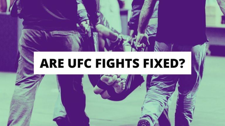 Are UFC Fights Fixed?