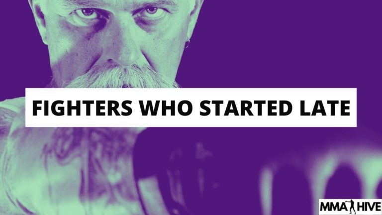 MMA Fighters Who Started Late